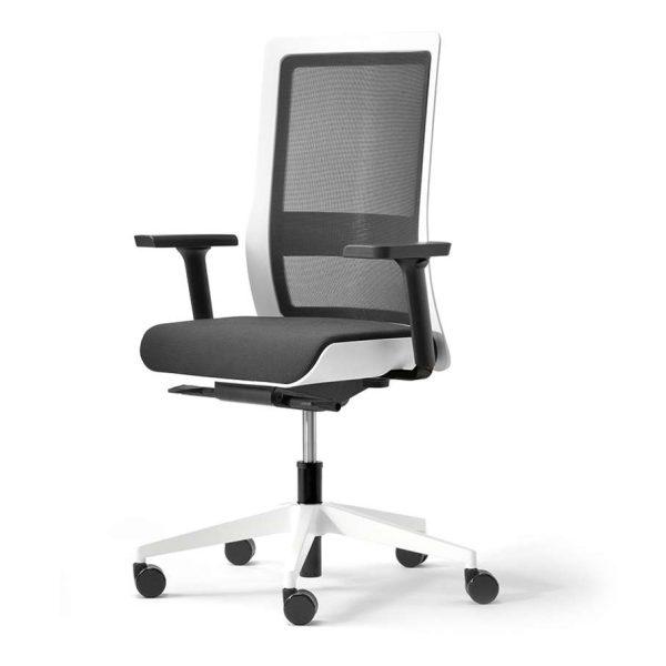POI bureaustoel met verstelbare lumbaalsteun | www.bureaustoel.nl