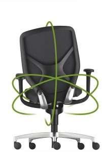 Wilkhahn IN Trimension®-mechanisme | www.bureaustoel.nl