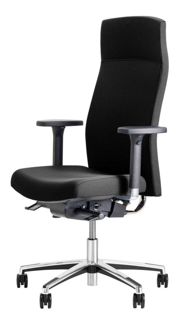 Bureaustoel Met Verstelbare Rugleuning.Beta Bureaustoel Be Noble Model 3502 Met Hoge Rugleuning