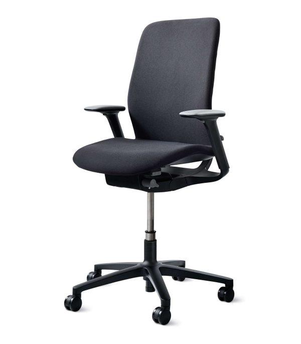wilkhahn-at-esp-bureaustoel-zwart-vooraanzicht | www.bureaustoel.nl