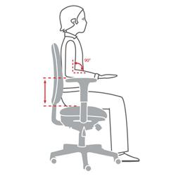 Keuzehulp Bureaustoel optimaal instellen